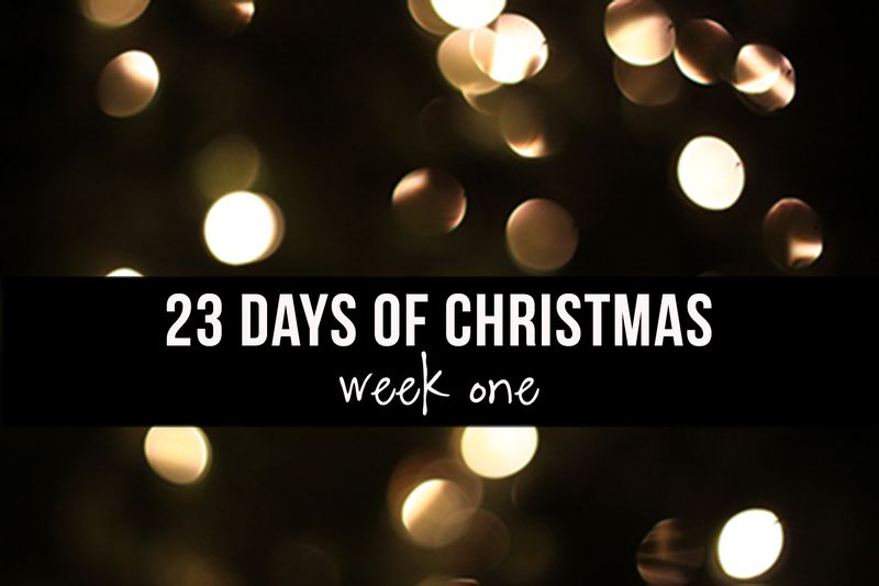 23 days of christmas