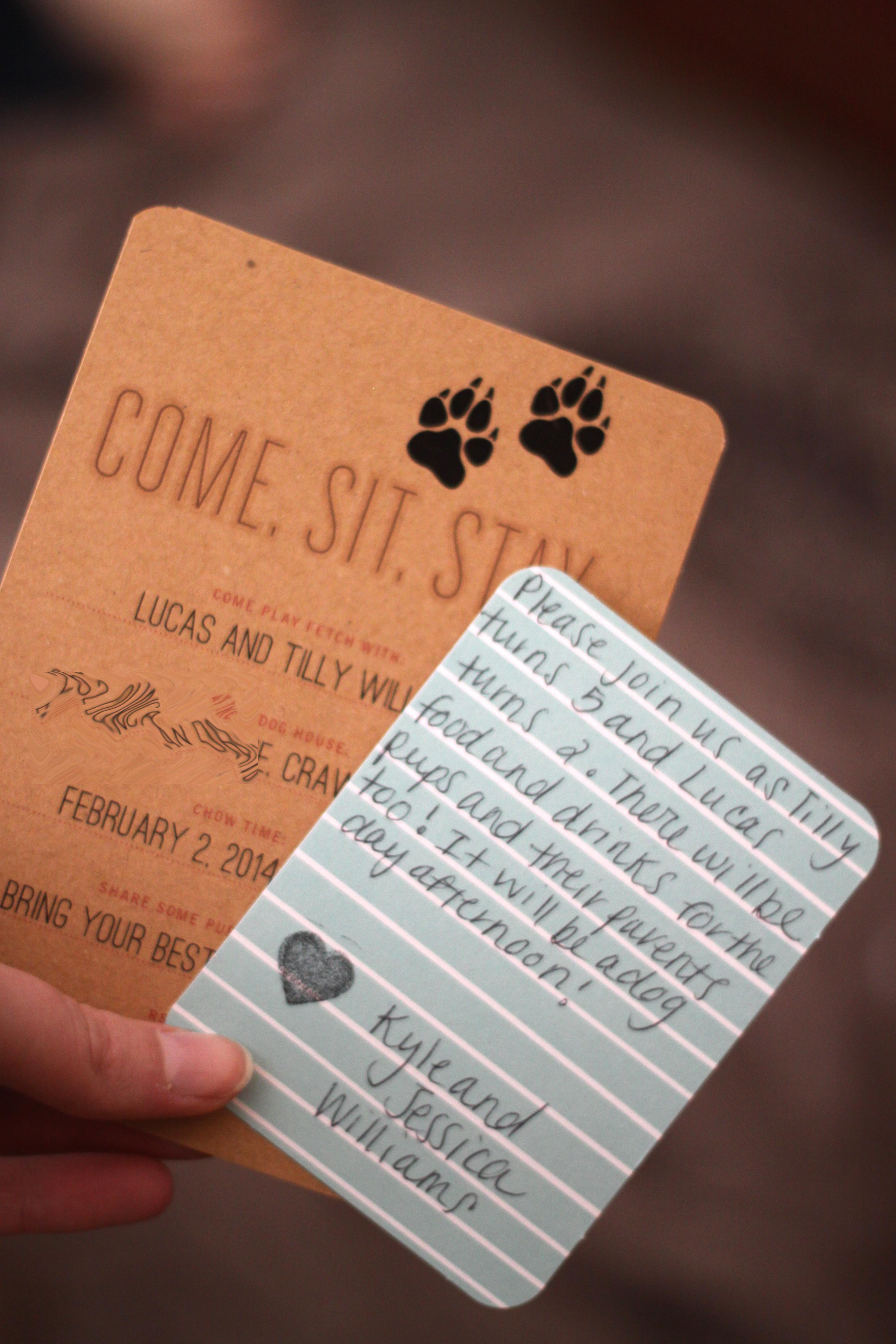 Life laid bear puppy invitations pup invite 1 colourmoves